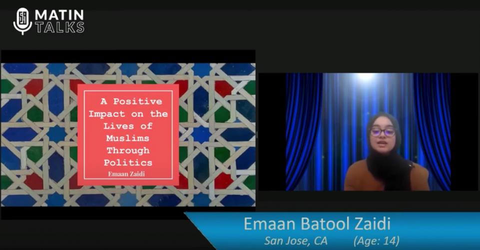 Emaan Batool Zaidi – Junior